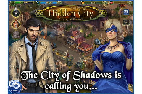Hidden City: Mystery of Shadows Android Game, Review ...