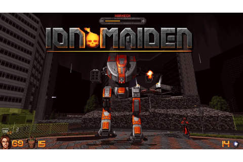 Ion Maiden - Second Level & Bossfight - YouTube
