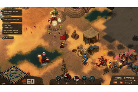 Save 85% on Tooth and Tail on Steam