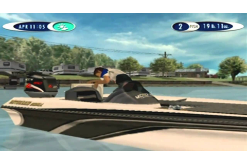 Sega Bass Fishing 2 Game Sample - Dreamcast - YouTube
