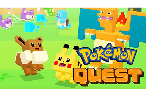 Pokemon quest iPhone game - free. Download ipa for iPad ...