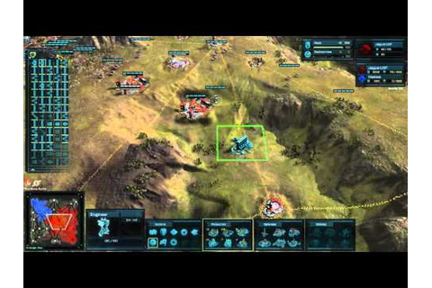Ashes of the Singularity Early Access Beta Gameplay ...
