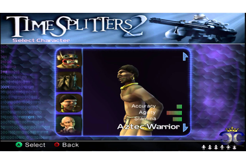 Timesplitters 2 - All characters unlocked (HD) - YouTube