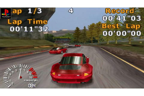 5 Stars Racing - Gameplay PSX / PS1 / PS One / HD 720P ...