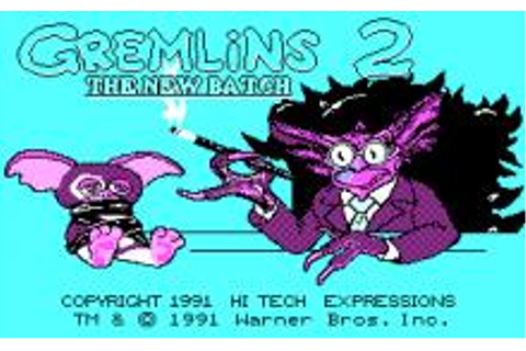Gremlins 2: The New Batch (Hi-Tech) Download (1991 Arcade ...