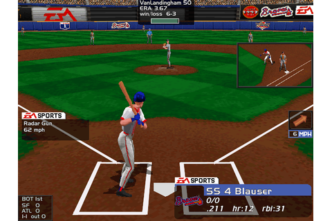 Triple Play Baseball 97 (1996)(Electronic Arts) Game