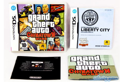 Grand Theft Auto : Chinatown Wars [FRA] Nintendo DS (2009 ...