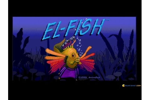 El-Fish gameplay (PC Game, 1993) - YouTube