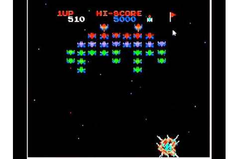 Galaxian Family Computer Video Game for PC - YouTube