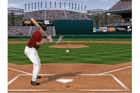 microsoft baseball 2001. screen shot. sz s vintage ...
