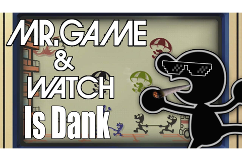 Mr. Game and Watch is Dank, Better Nerf - Super Smash Bros ...