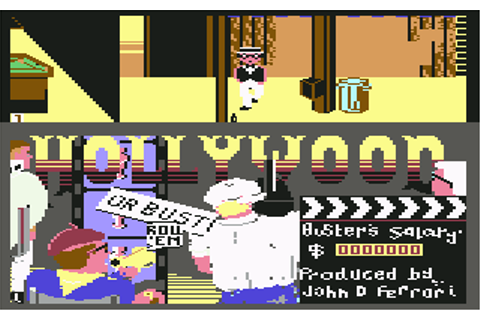 Play Hollywood or Bust Online C64 Game Rom - Commodore 64 ...