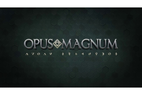 Opus Magnum, by Zachtronics - YouTube