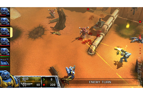 Screens: Warhammer 40,000: Squad Command - PSP (1 of 8)