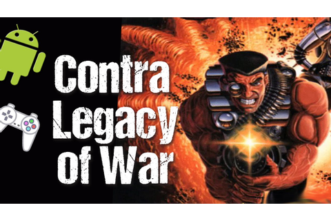 Contra Legacy of War - PSX (PSOne) on Android - Gameplay ...