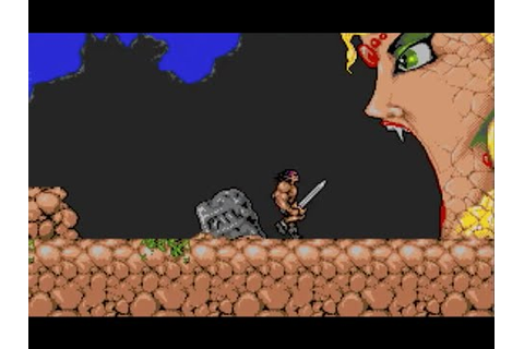 Torvak the Warrior, music with screenshots (Amiga 500 ...