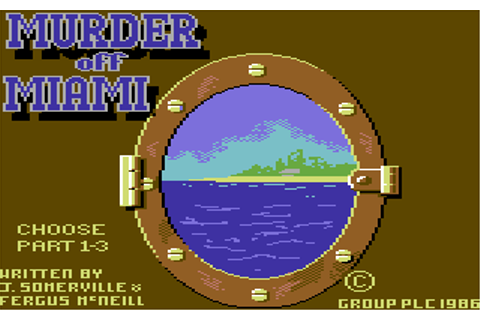 Download Murder off Miami (Amstrad CPC) - My Abandonware