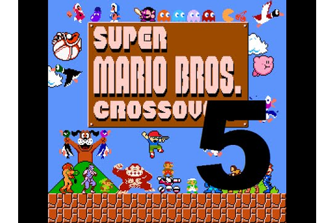 Funny Deaths | Super Mario Bros. Crossover [Part 5] - YouTube