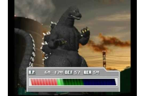 Godzilla Trading Battle Psx (5) - YouTube
