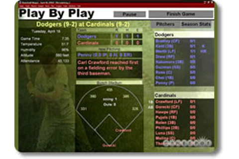 Baseball Mogul 2006 Game Review - Download and Play Free ...