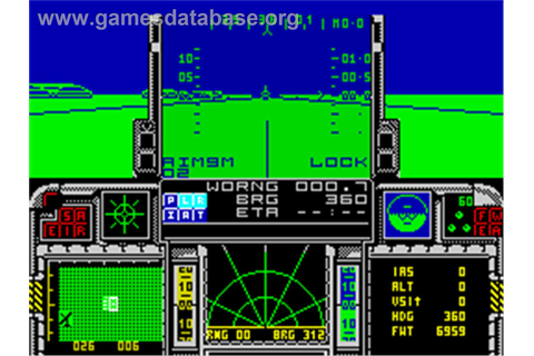 F-16 Combat Pilot - Sinclair ZX Spectrum - Games Database