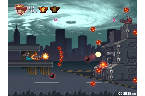 Contra ReBirth Wii Screens and Art Gallery - Cubed3