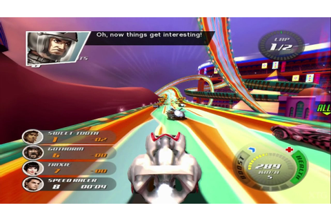 Speed Racer: The Videogame PS2 Gameplay HD (PCSX2) - YouTube