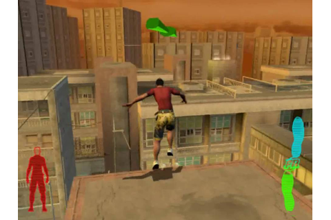 Free Running (Jogo de Le Parkour) Gameplay - YouTube