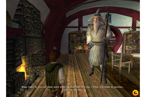 The Lord of the Rings The Fellowship of the Ring PC Game ...