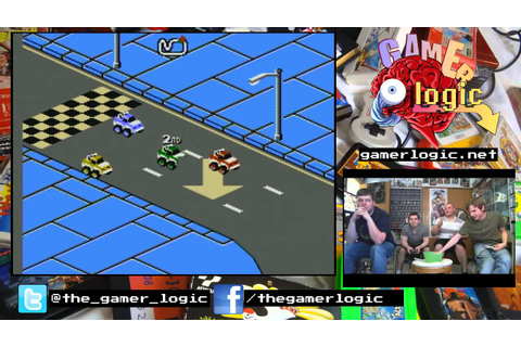 4 Player Madness - RC PRO-AM 2 (NES) - YouTube