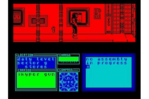 Marsport Walkthrough, ZX Spectrum - YouTube