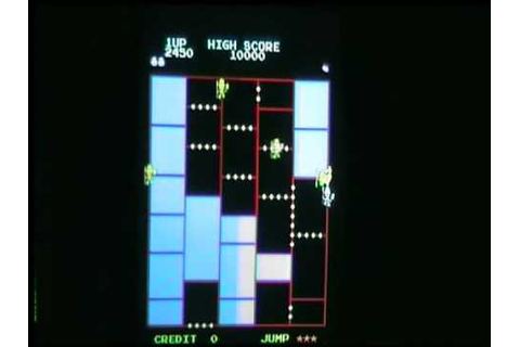 AMIDAR (HQ) ARCADE GAME ORIGINAL BOARD KONAMI - YouTube