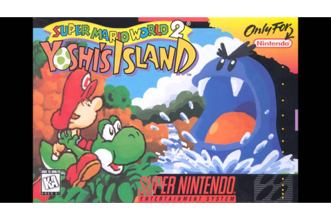 Super Mario World 2 : Yoshi's Island - Title Screen ...
