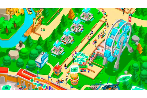 Idle Theme Park Tycoon Gameplay - YouTube