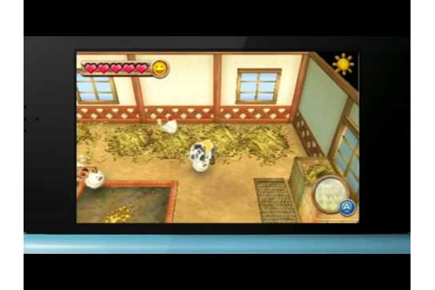 Harvest Moon 3DS: Land of Beginning Gameplay - YouTube