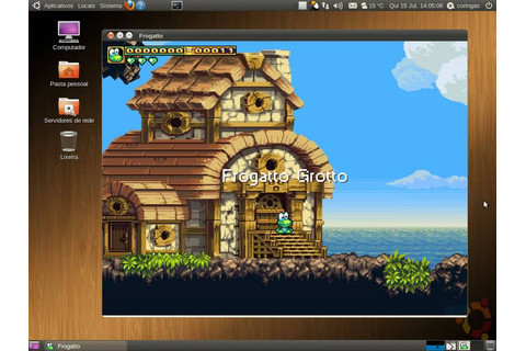 Frogatto and Friends, ein 2D Jump 'n' Run Spiel › Linux ...