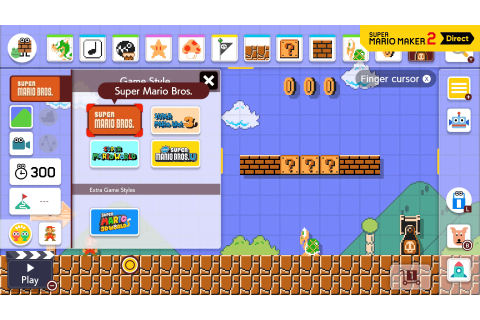 Will Nintendo Add More Game Styles To Super Mario Maker 2 ...