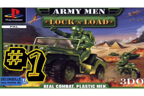 Army Men Lock 'N' Load #1 - That's Just Janky - YouTube