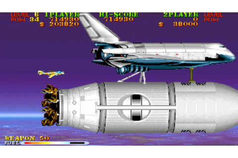 Carrier Air Wing Mission 10 End 1990 Capcom Mame Retro ...