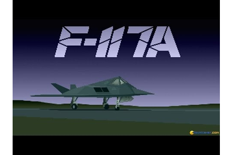 F117 A - Stealth Fighter 2 gameplay (PC Game, 1991) - YouTube