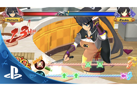 SENRAN KAGURA Bon Appetit! - Turn up the Heat on Rhythm ...