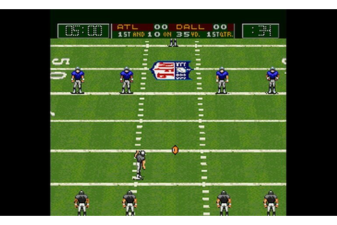 Play Capcom's MVP Football (USA) • Super Nintendo GamePhD