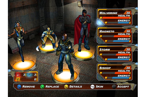 Fiche détaillée du RPG X-Men Legends II : L'Avenement d ...