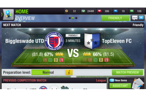 Top Eleven 2018 - Be a Soccer Manager - Android Apps on ...