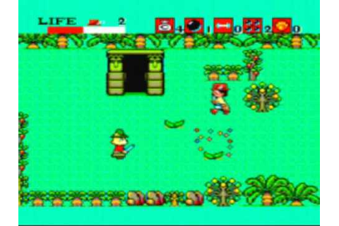 Aztec Adventure Game Sample - Sega Master System - YouTube