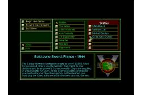 V for Victory: Gold Juno Sword Download (1993 Strategy Game)