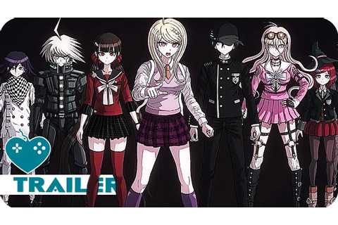 DANGANRONPA V3: KILLING HARMONY Trailer (2017) PS4, PS ...