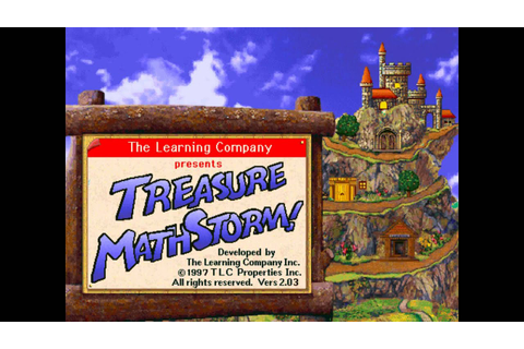 Level 1 - Treasure Mathstorm! - YouTube