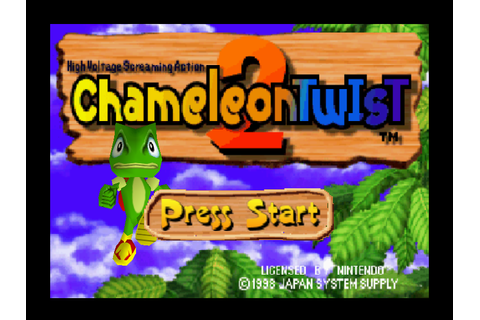 Chameleon Twist 2 Download Game | GameFabrique