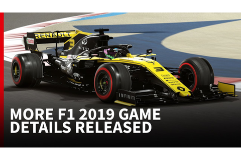 F1 2019 game latest: What we've learned so far - YouTube